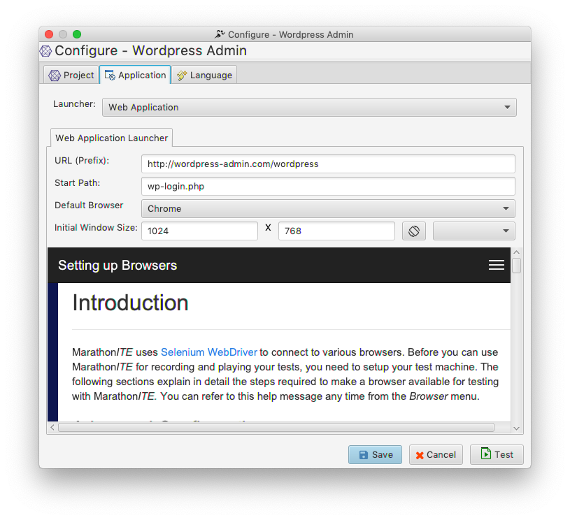 Testing Web Applications - Project Setup - MarathonITE