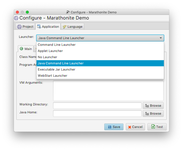 Testing JavaSwing Application - Setting up Project