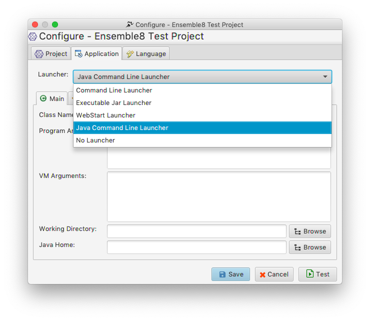 Testing JavaFX Application - Setting up a Project