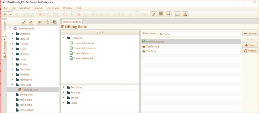 Suite Editor - Marathonite