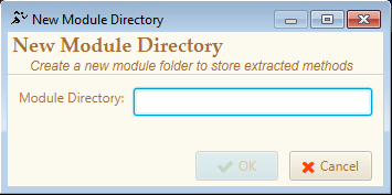 Creating a Module Folder