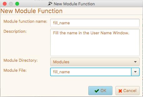 Creating a new Module Method