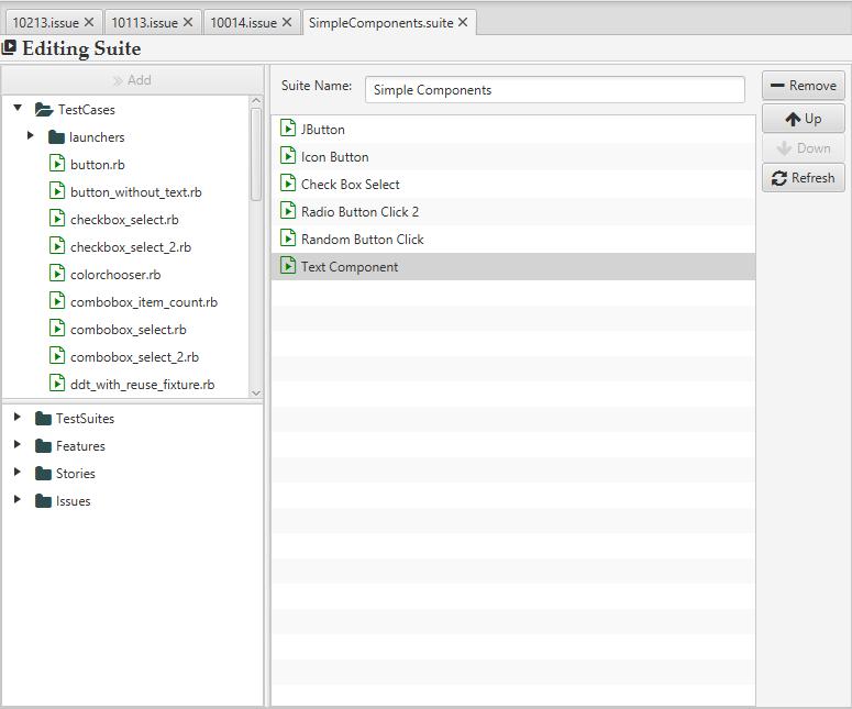 Marathonite Test Suite Editor